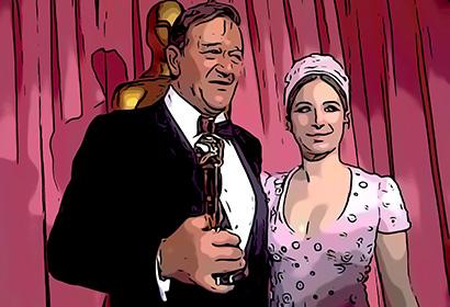 John Wayne at 42nd Academy Awards