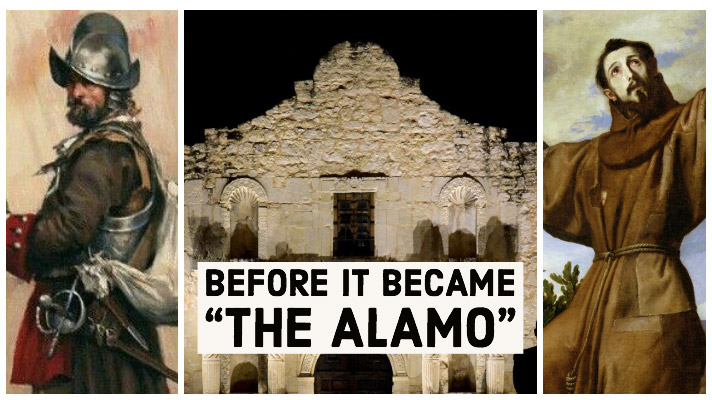 Before the Battle of the Alamo