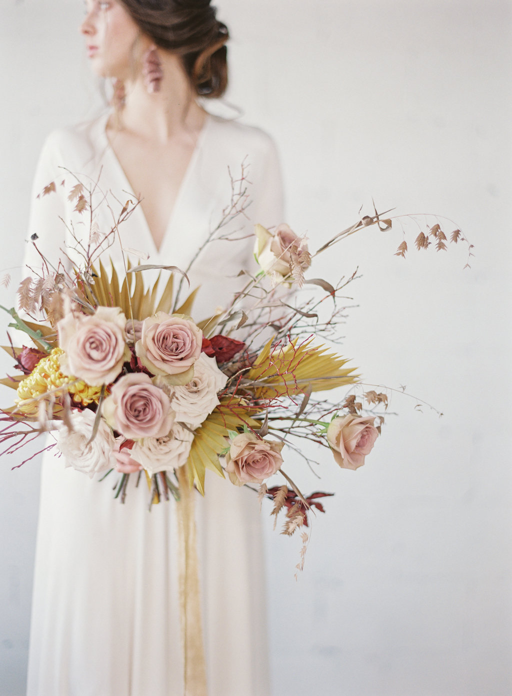 contemporary - fall wedding editorial