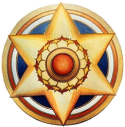 Image courtesy of the    The Synthesis Center   .   This star image is often used to describe the six psychological functions: thinking, emotion, impulse/desire, intuition, sensation, and imagination.