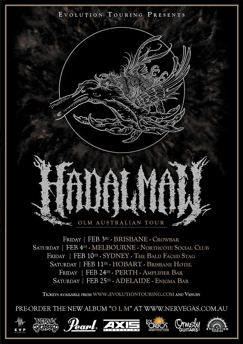 Hadal Maw (AUS) - Australian tour