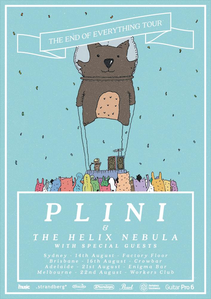 Plini (AUS) + The Helix Nebula (AUS) - Australian Tour