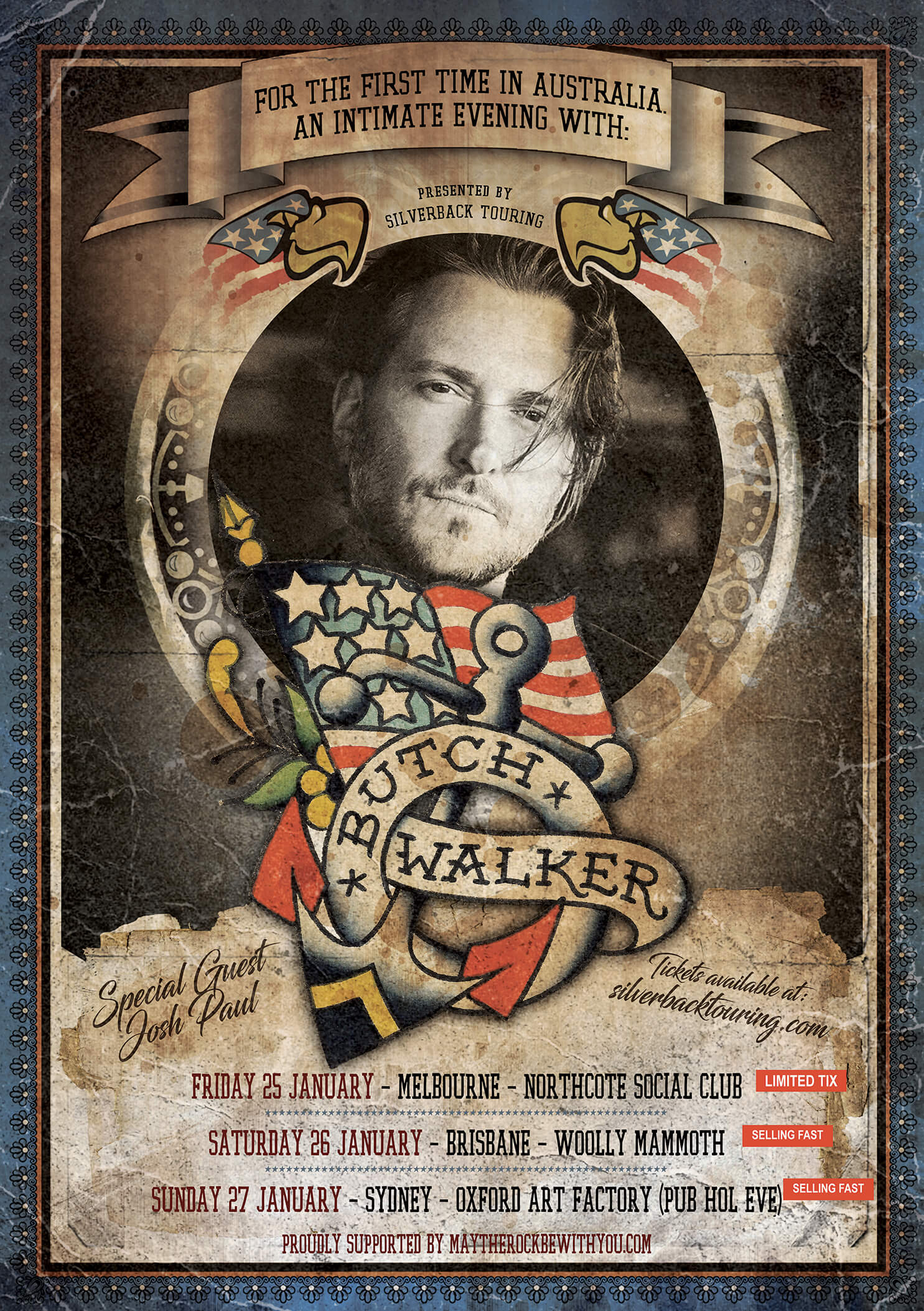 Butch Walker (USA) - Australian tour