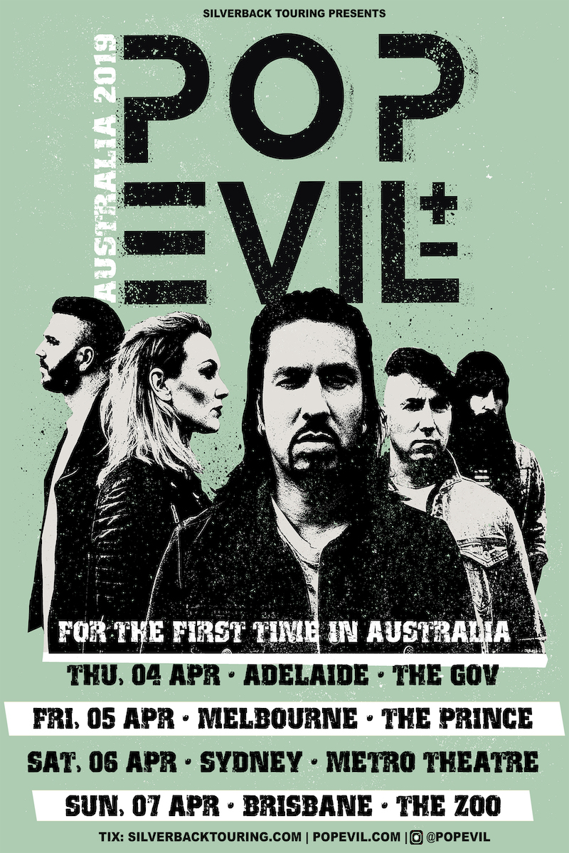 Pop Evil (USA) - Australian tour