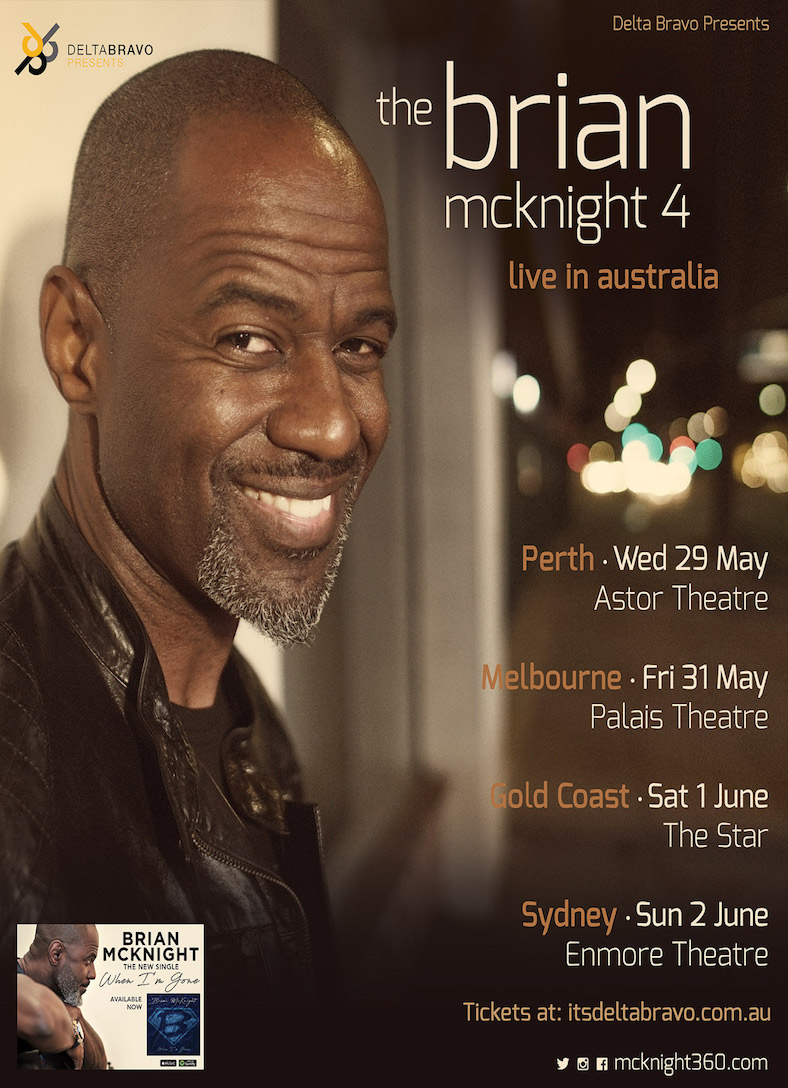 Brian McKnight (USA) - Australian tour