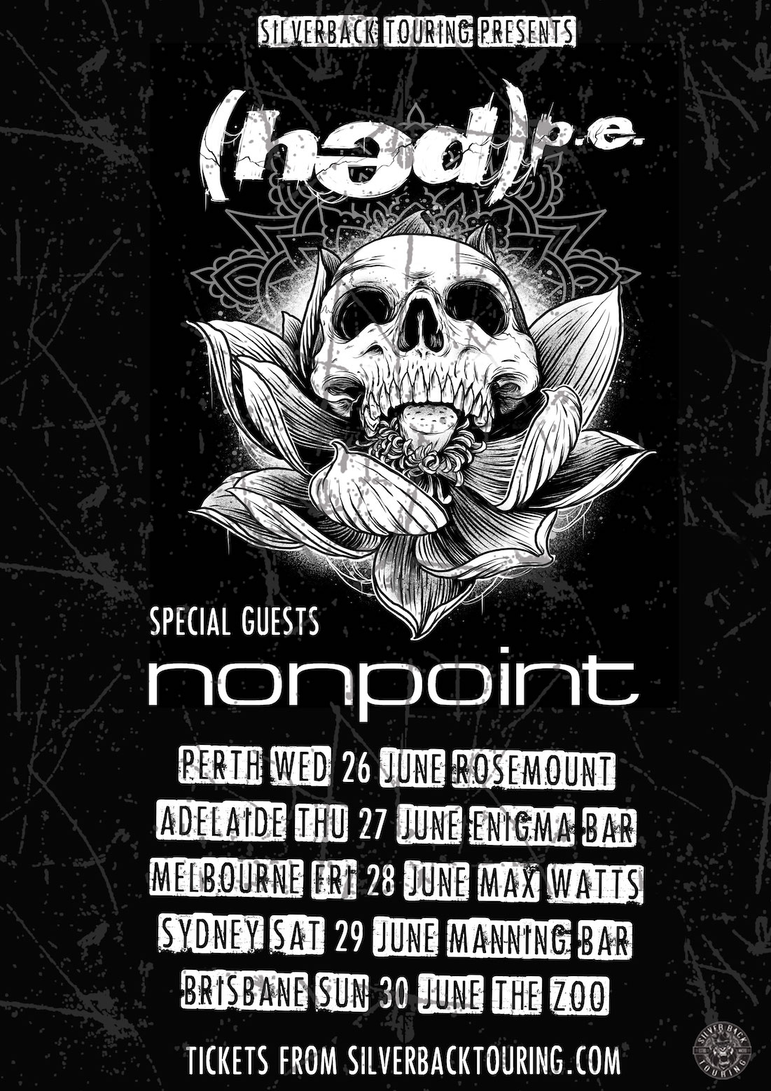 Hed PE (USA) + Nonpoint (USA) - Australian Tour