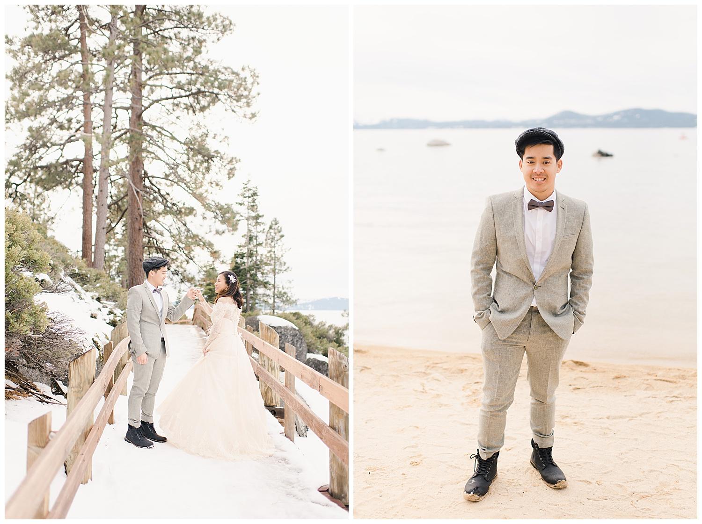 Lake Tahoe Engagement. Ginny and Wilson. 4