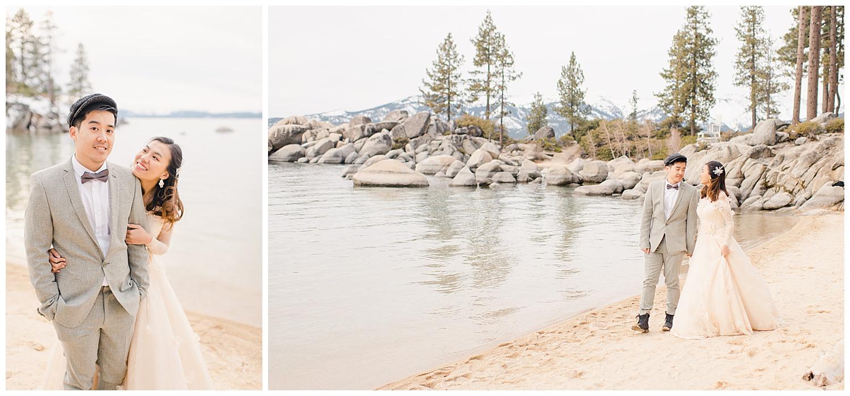 Lake Tahoe Engagement. Ginny and Wilson. 10