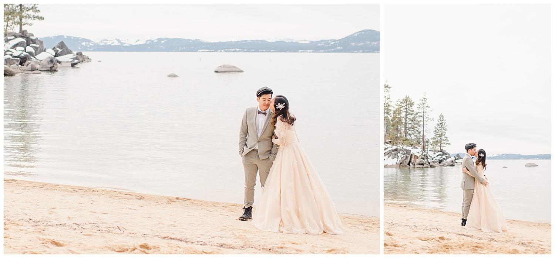 Lake Tahoe Engagement. Ginny and Wilson. 11
