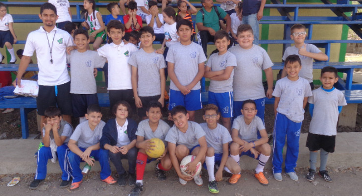 Our new U12 Futbol team won second place in the City Tournament. They played for three hours in the final game, unable to break the tie, and sadly lost by a coin toss!BUT the winning team was disqualified for overage players, so our team will move on to the district tournament.
