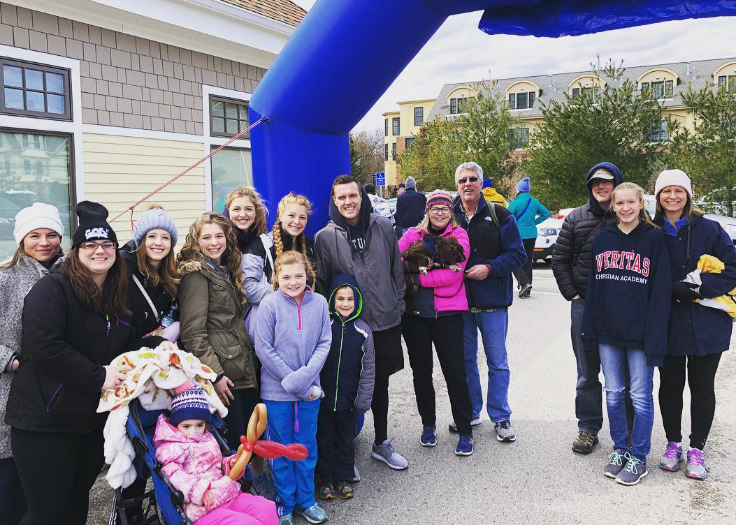 A few of the folks at Milestone joined the 9th Annual Walk to End Homelessness! It's a walk sponsored by Family Promise MetroWest, an organization that offers shelter, education, and comprehensive support to homeless families in Boston. Milestone cares about their community!