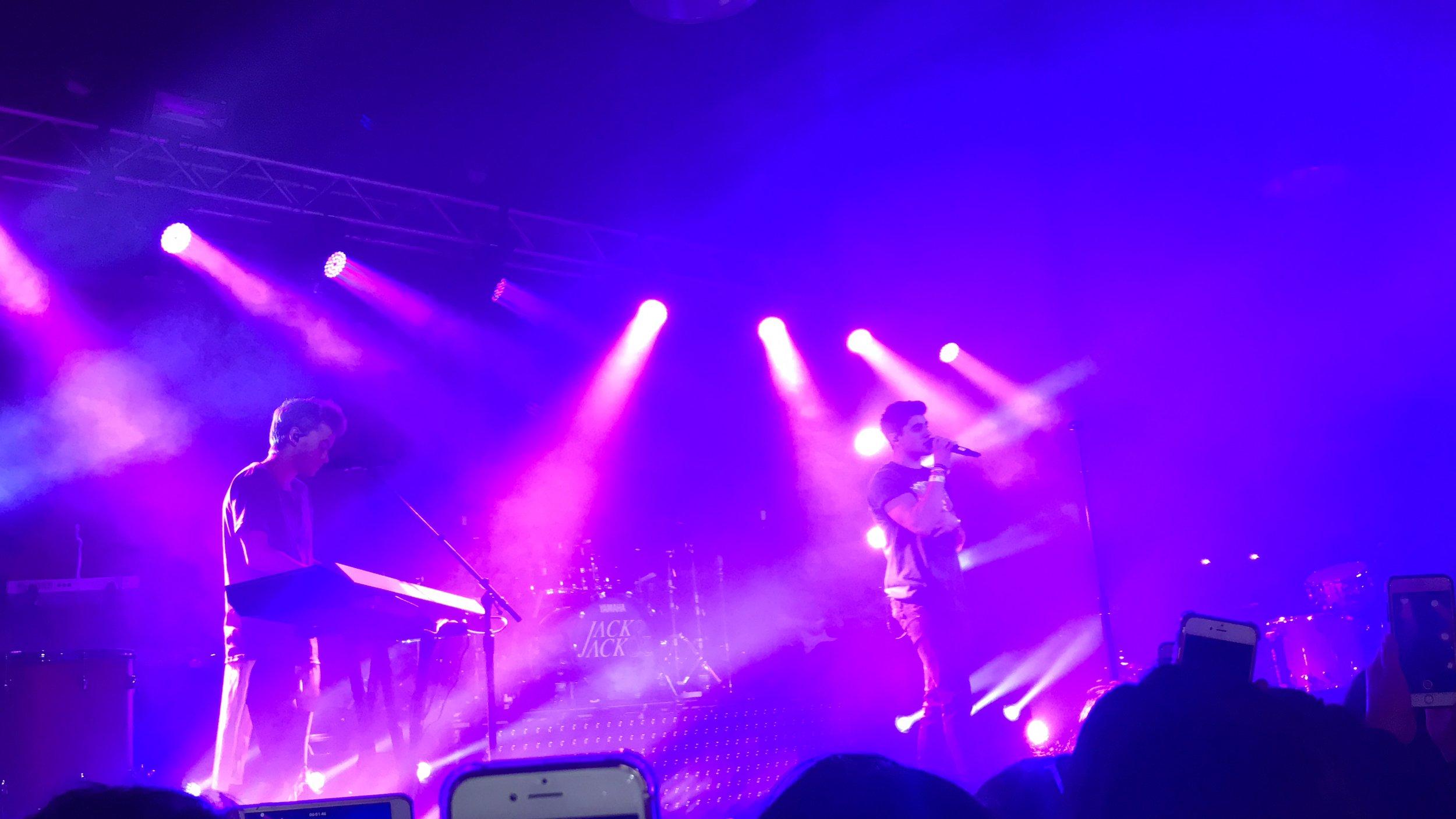 Jack & Jack Concert- Photo by me