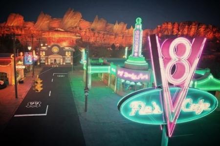 Disneyland Cars Land -