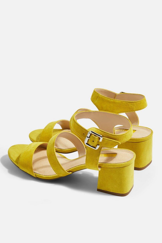 Topshop Womens Nicky Smart Heeled Sandals