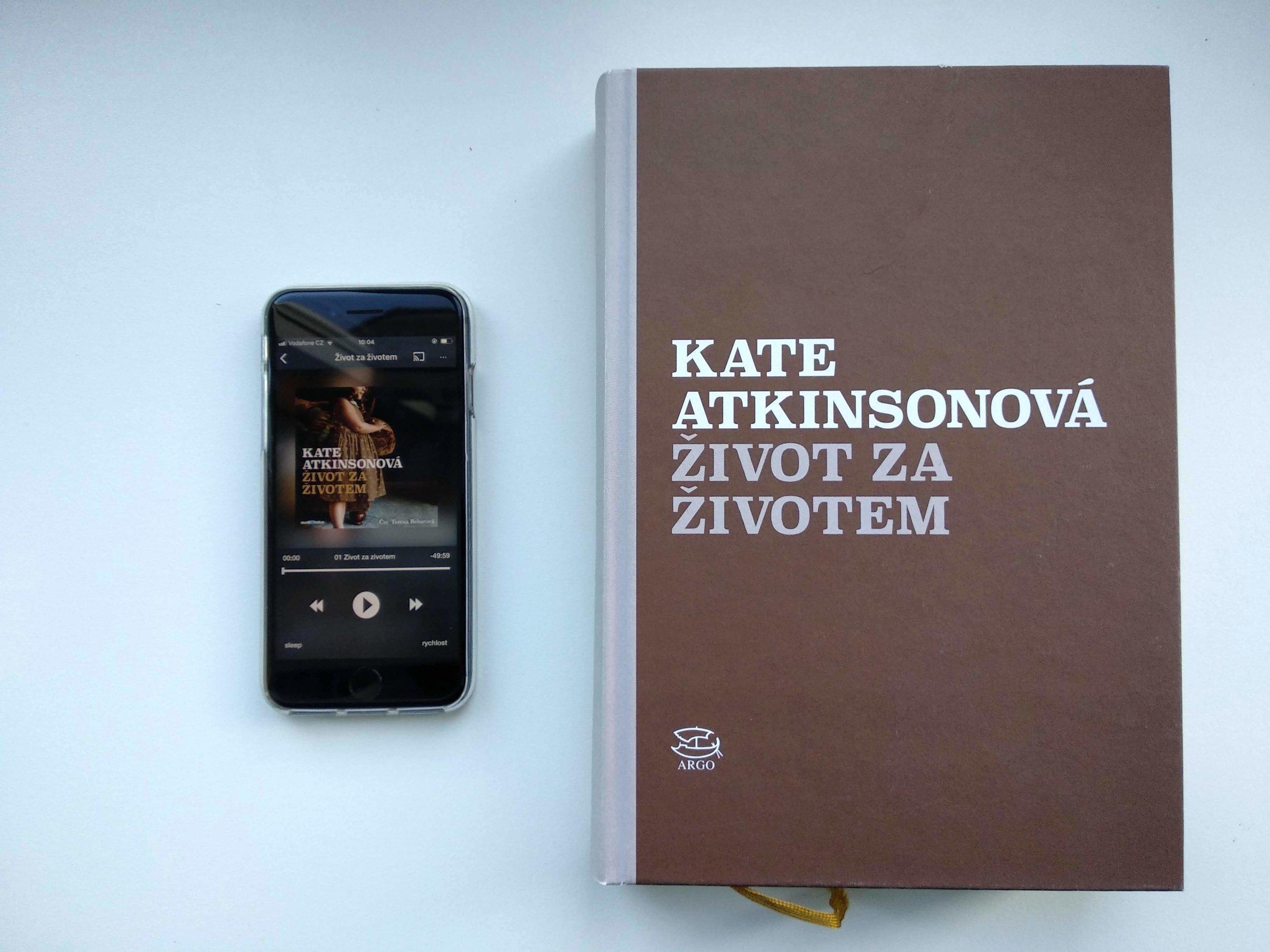 «Жизнь после жизни» Кейт Аткинсон, бумажная и в приложении Аудиотека