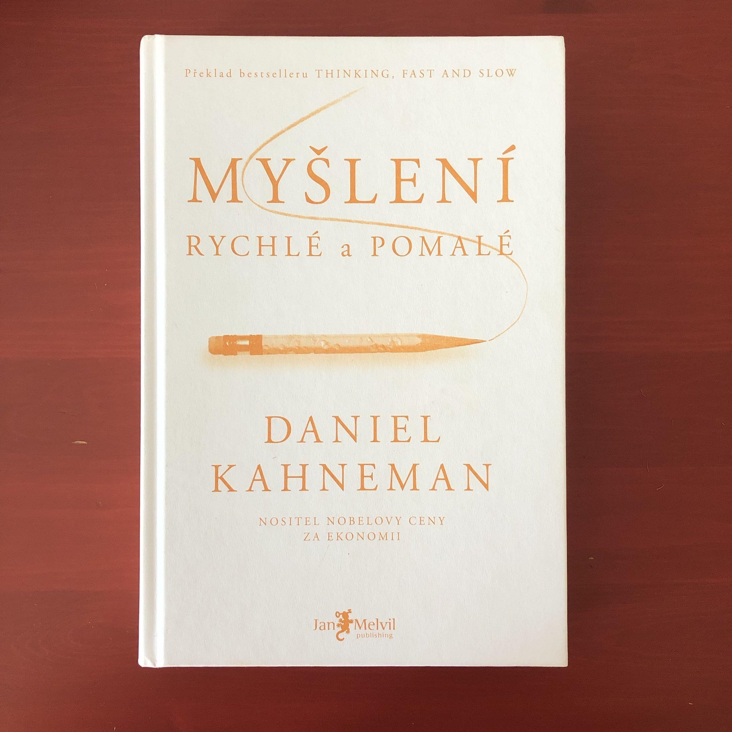 Читаю Канемана на чешском. И так текст сложный, а тут еще чешский. Пока прочитал 2/3.