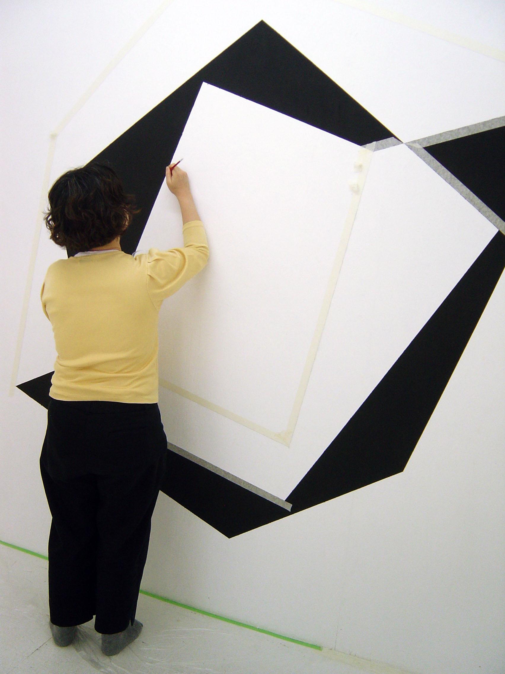 Identity Nathan Cohen Wall Construction II - Reiko Kubota assisting 2009.jpg