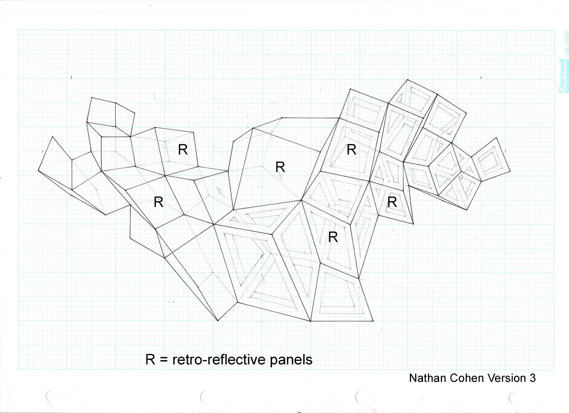 Fig.27 - Drawing for  RPT Wall Installation Nathan Cohen 2008
