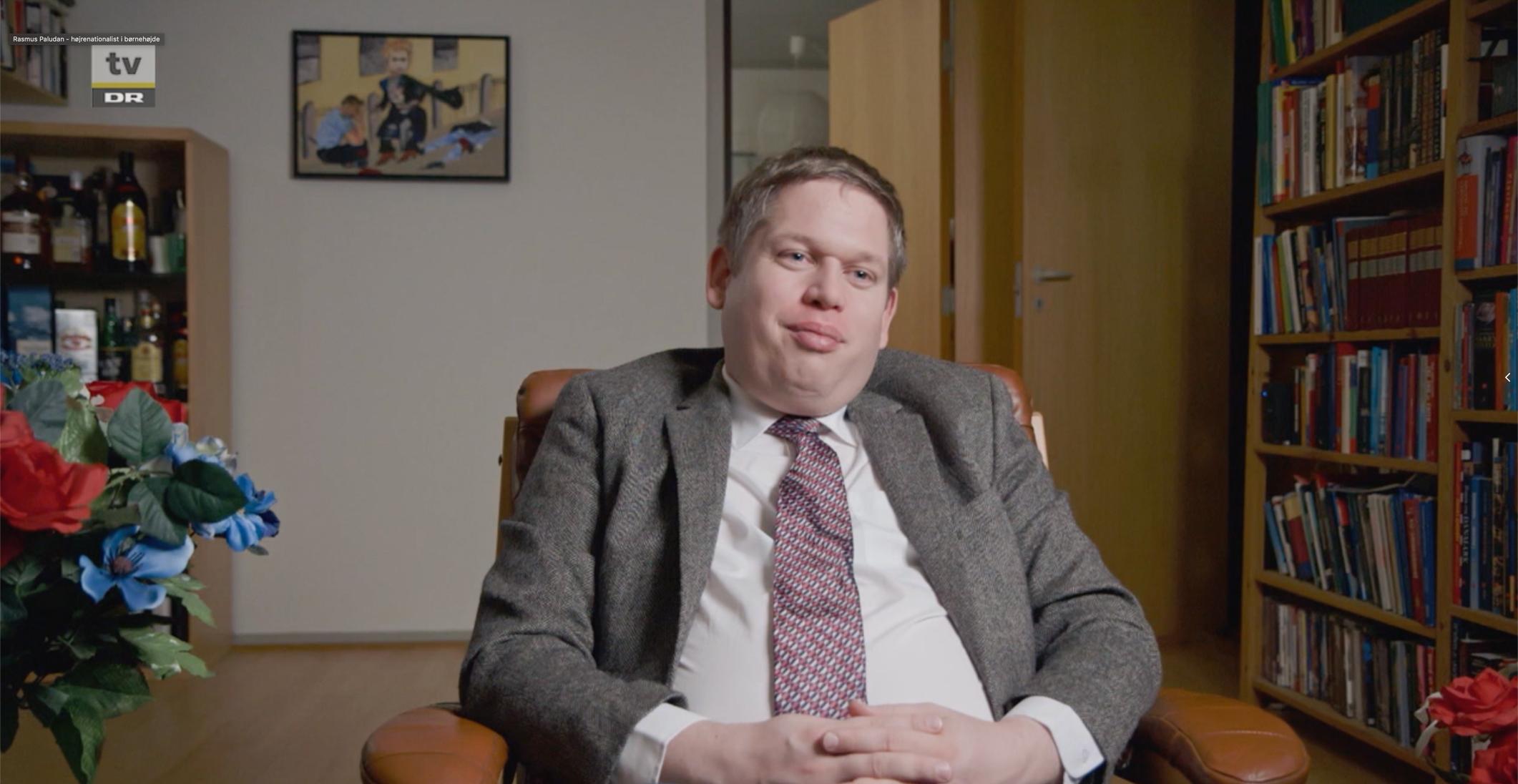 RASMUS PALUDAN - HØJRENATIONALIST I BØRNEHØJDE (2019)  DR2