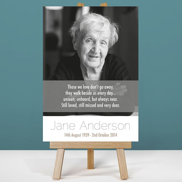 Capture a favourite saying in your Memory Boards #funeralstationary #funeralprinting #memoryboards #printingservice #bespokeprinting #funeraldirector #funeralservice #orderofservice #bespoke #memories #funerals