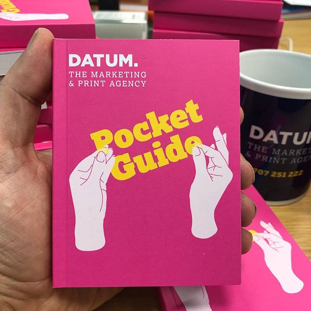 Our new handy Datum Pocket Guide is available with a complete A-Z list of services and products. If you'd like a copy drop us a line by visiting our website www.datum.agency