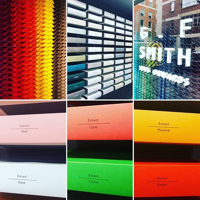 We now offer a range of different high end coloured papers produced exclusively from recycled Starbucks and Costa Coffee cups, get in touch if you would like samples or more information ☕️ 📚 #gfsmith #recycled