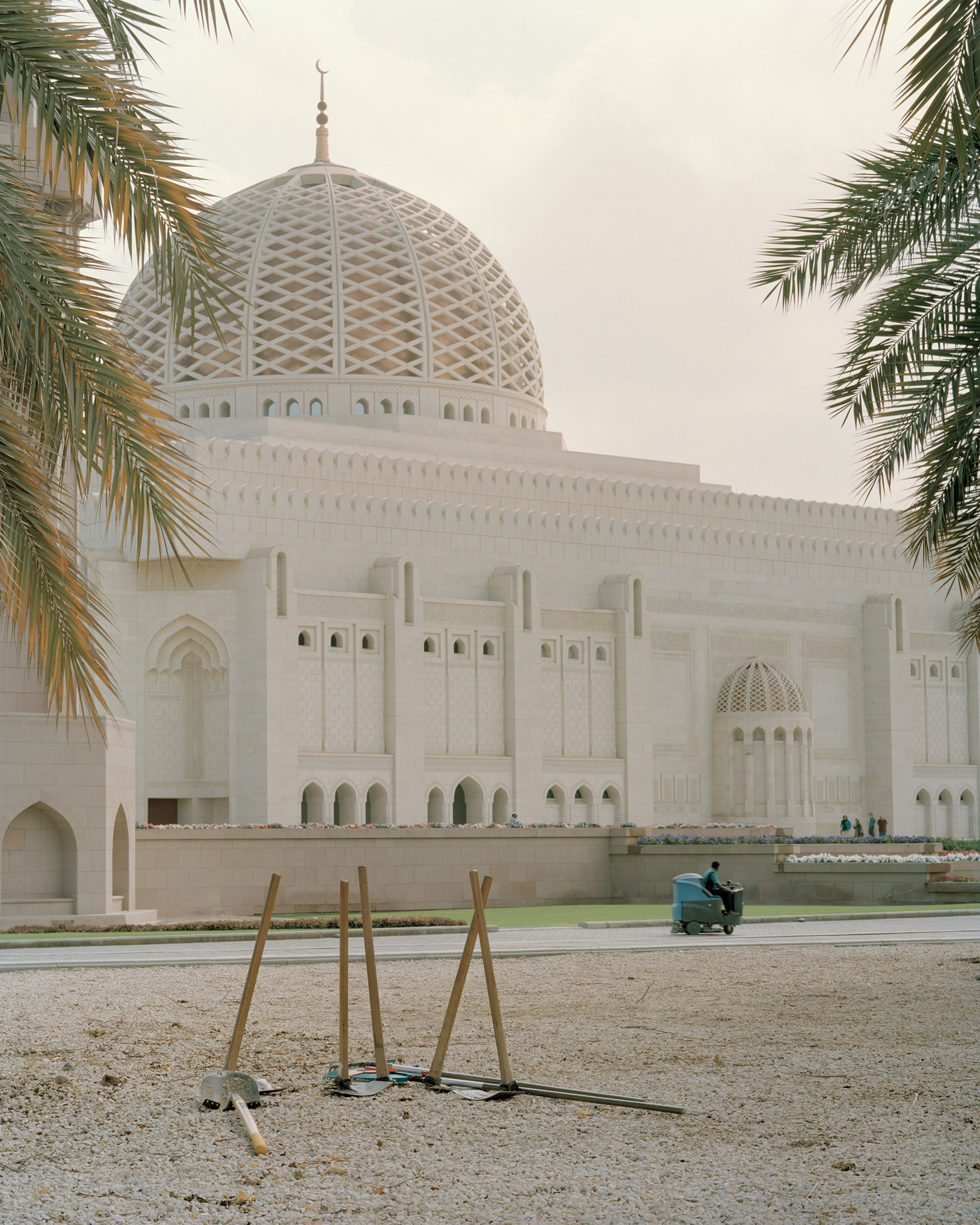 photograph of mosque from series XO