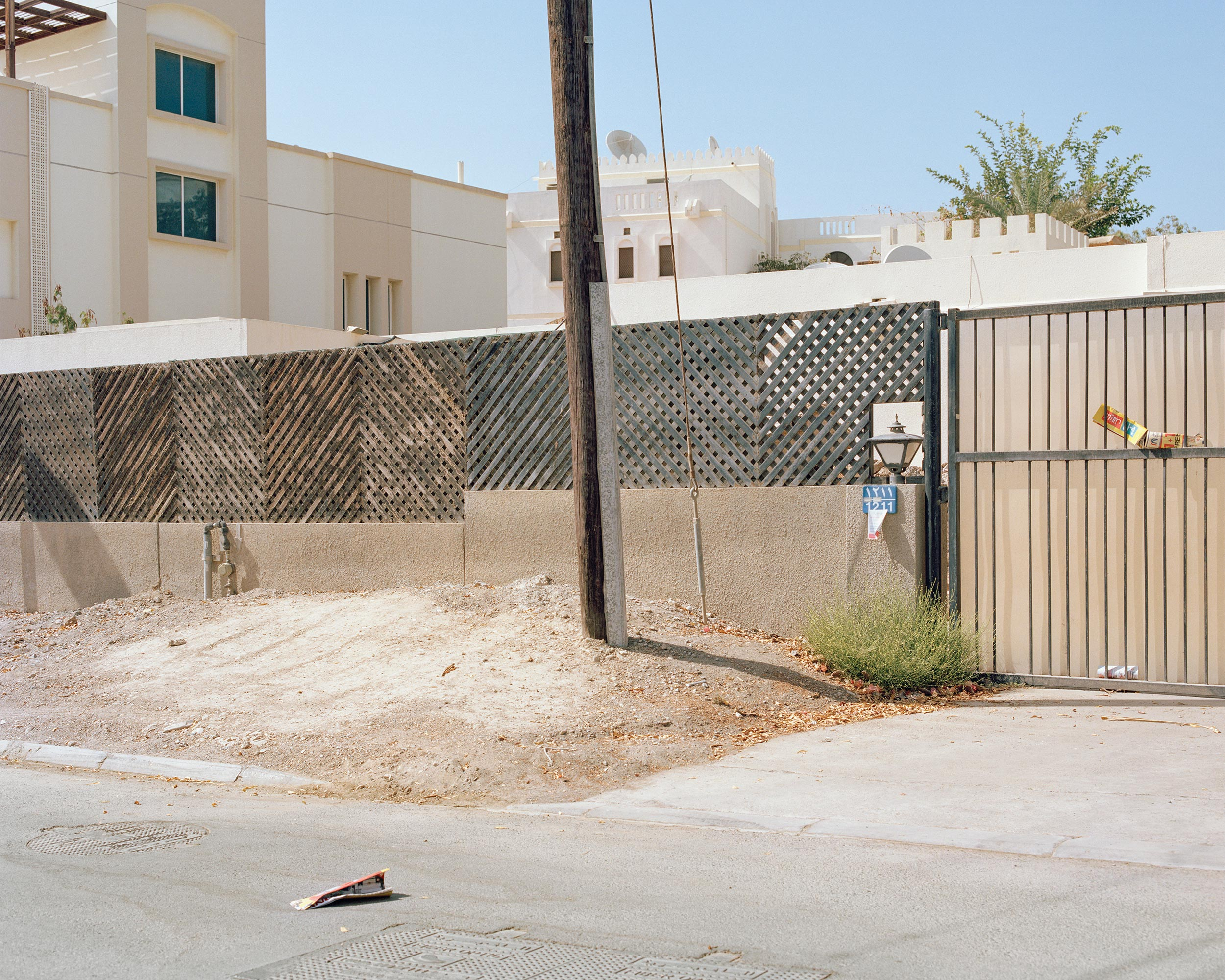 photograph of urban landscape from series XO