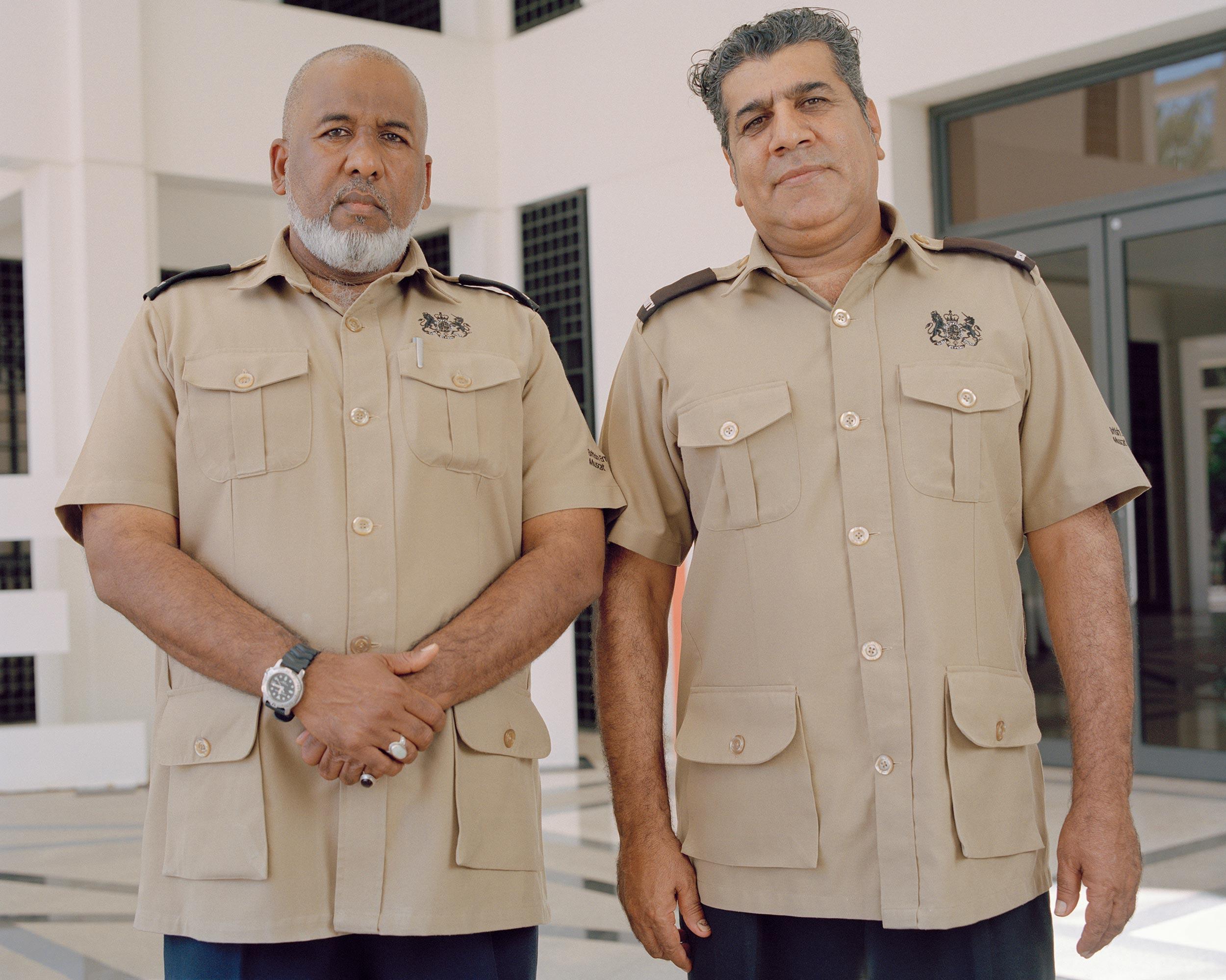 photograph of men wearing uniform from series XO