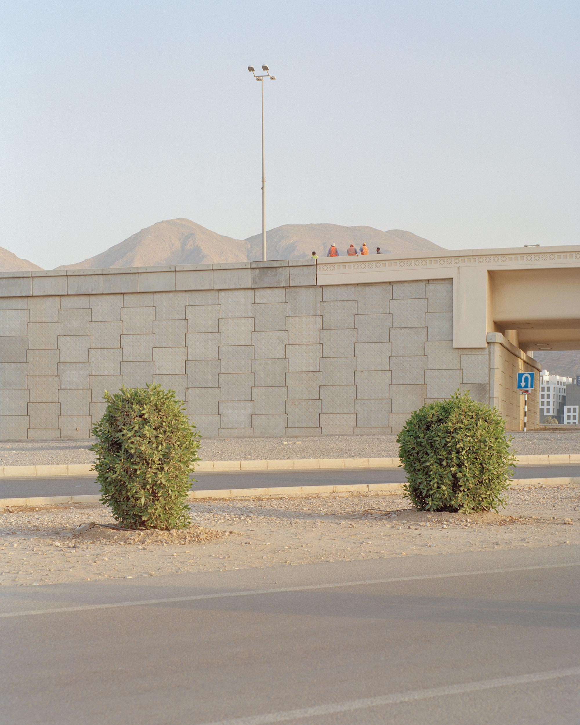 photograph of urban landscape road from series XO