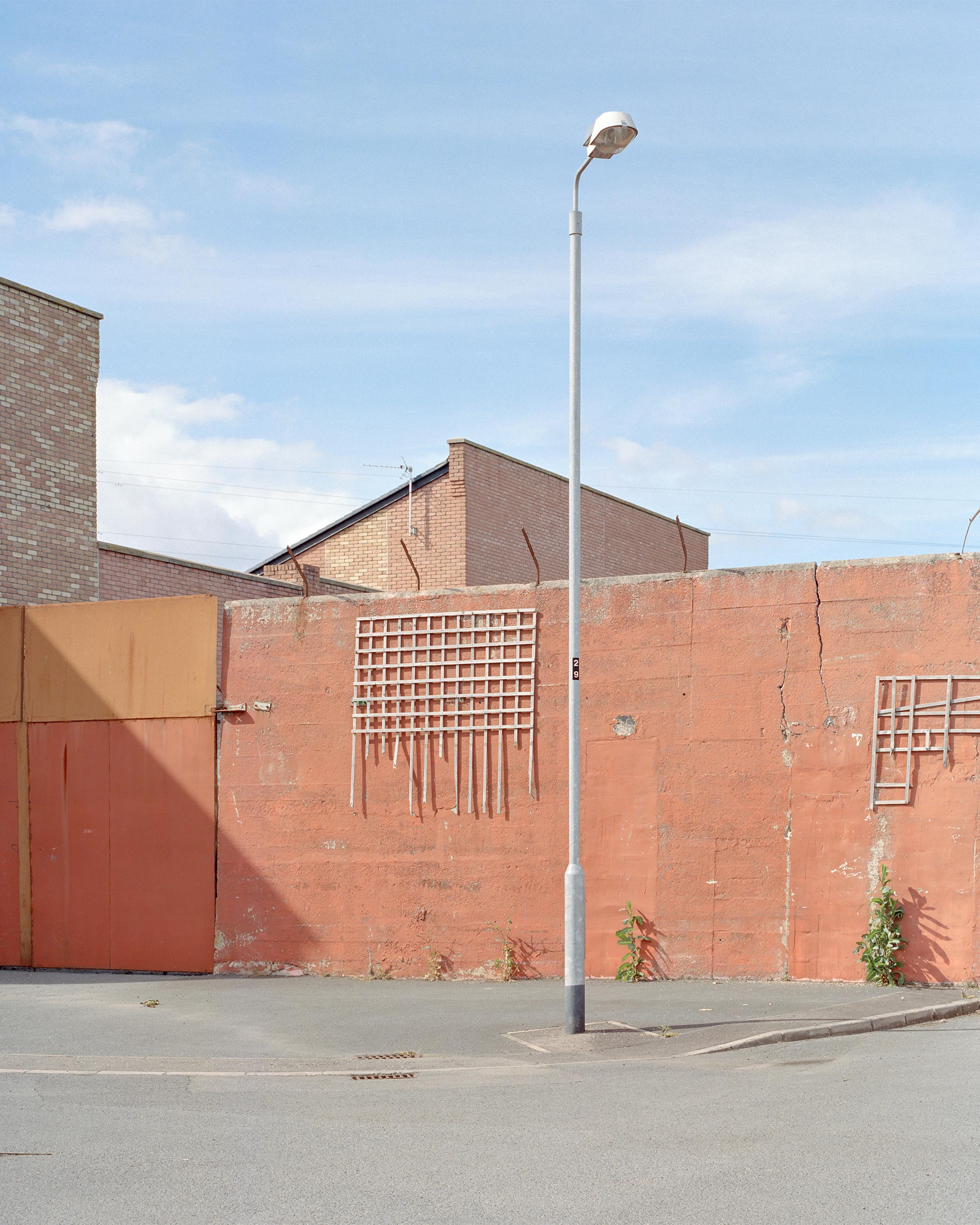 photograph of urban landscape from series 99 Peace Walls