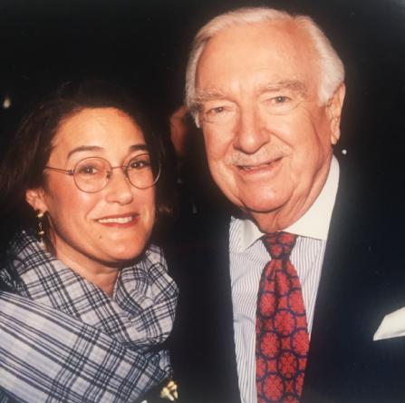 Geraldine Sharpe-Newton & Walter Cronkite