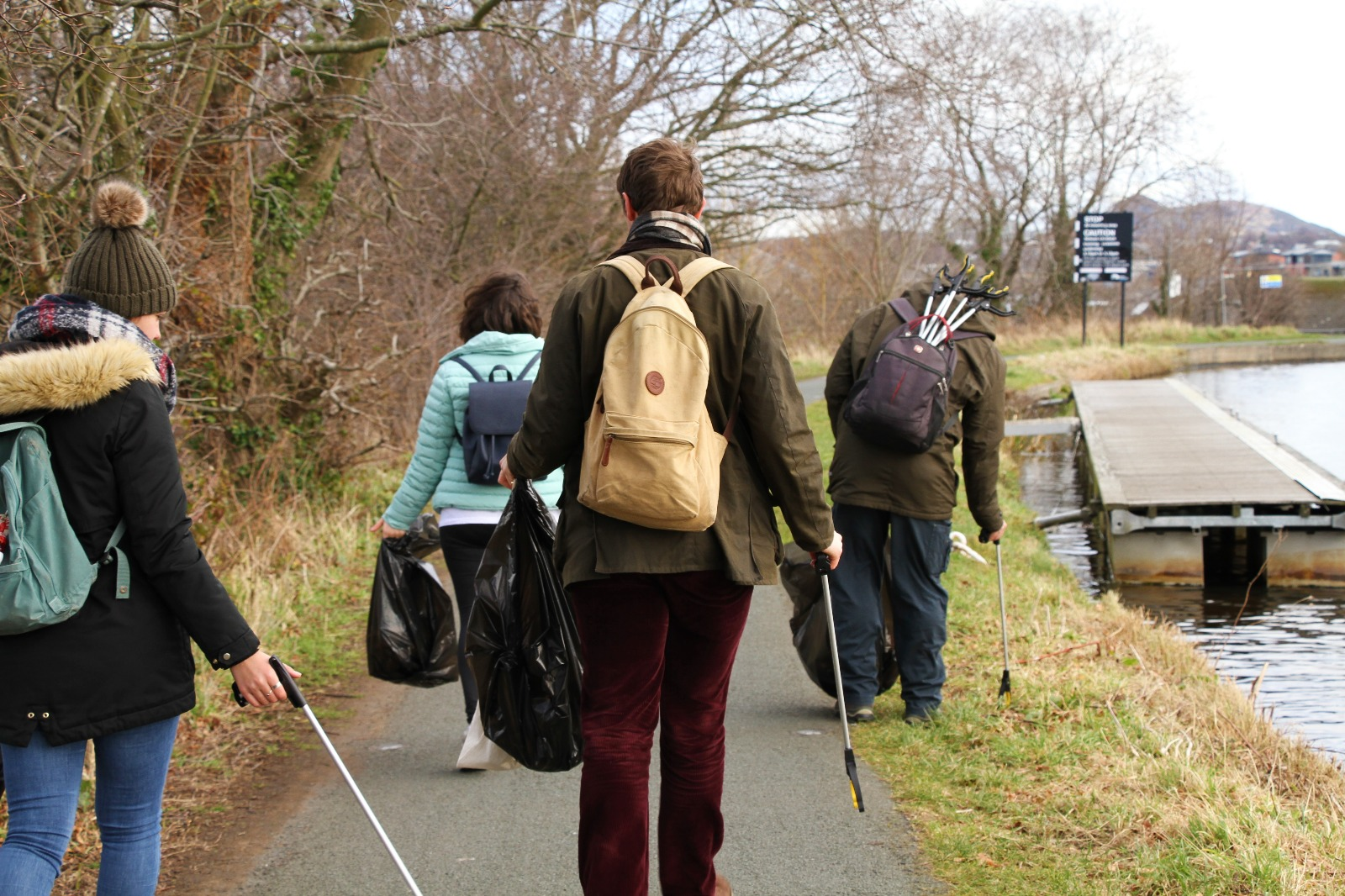 Clean-Up Hubs - This project places clean-up equipment at the heart of communities in Scotland to help keep our natural spaces free of litter and accessible to all.