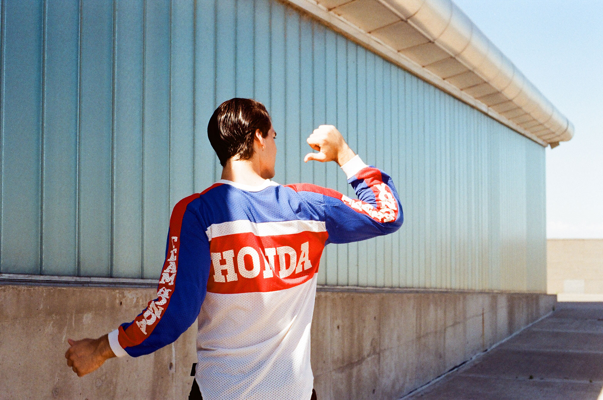 http://regiamag.com/giulia-ricciotti/  PH & Styling & M&H: Giulia Ricciotti  @giuliaricciotti   Model: Franco for DHRModels  @francodbarrera   Clothes: AyNotDead, Trosman, Adidas, Nike, Ungaro, Codigo, Honda