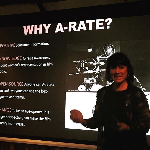 #EllenTejle from #A-rate gave a fantastic presentation.