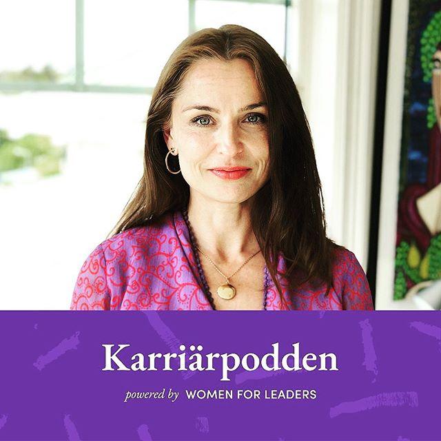 Stort tack för inbjudan till att medverka i veckans avsnitt av @karriarpodden! Vi talar om boken @den_nya_mannen - om pojkar, män & slutet på könskampen, om jämställdhets- och mångfaldsarbete, om det moderna ledarskapet och ja, kanske lite om livet. Karriärpodden #150 - stort tack @evaekedahl och @womenforleaders.  https://podcasts.nu/avsn…/karriarpodden/150-viktoria-saxby-1