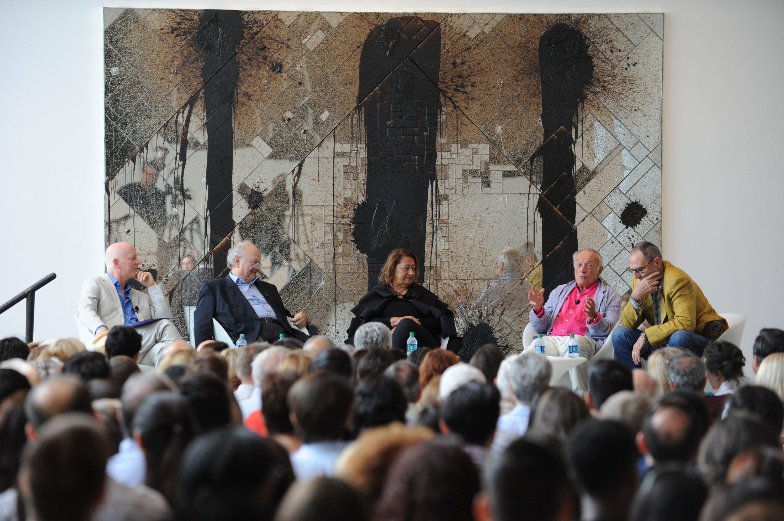 Pritzker Architecture Prize Laureates Panel Discussion