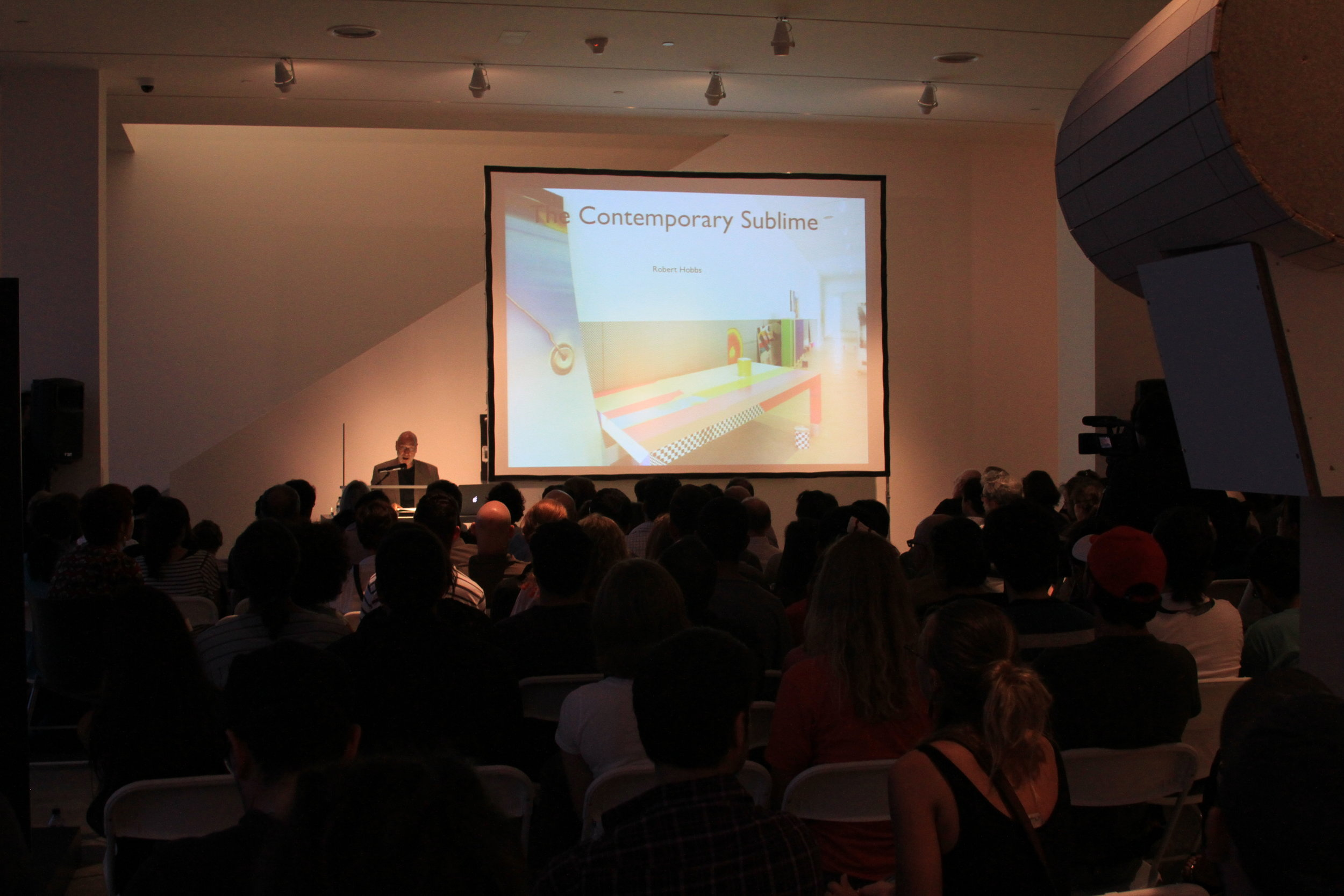 LECTURE WITH DR. ROBERT HOBBS: FORM IS A VERB