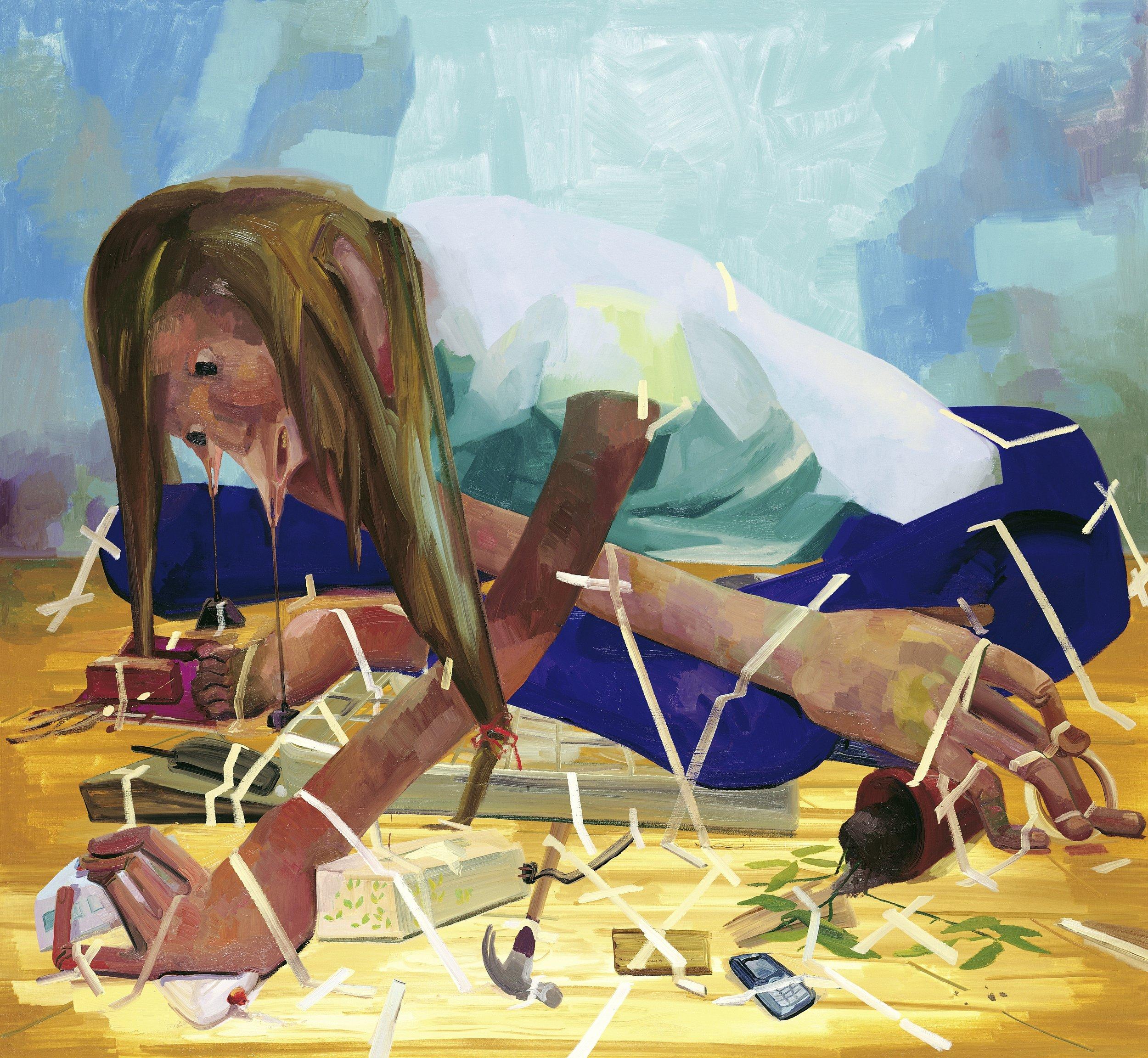 Dana Schutz,  Gravity Fanatic , 2005