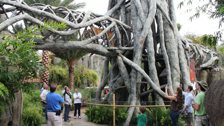 The Jacksonville Zoo is a nice day trip from Fernandina Beach, Florida.