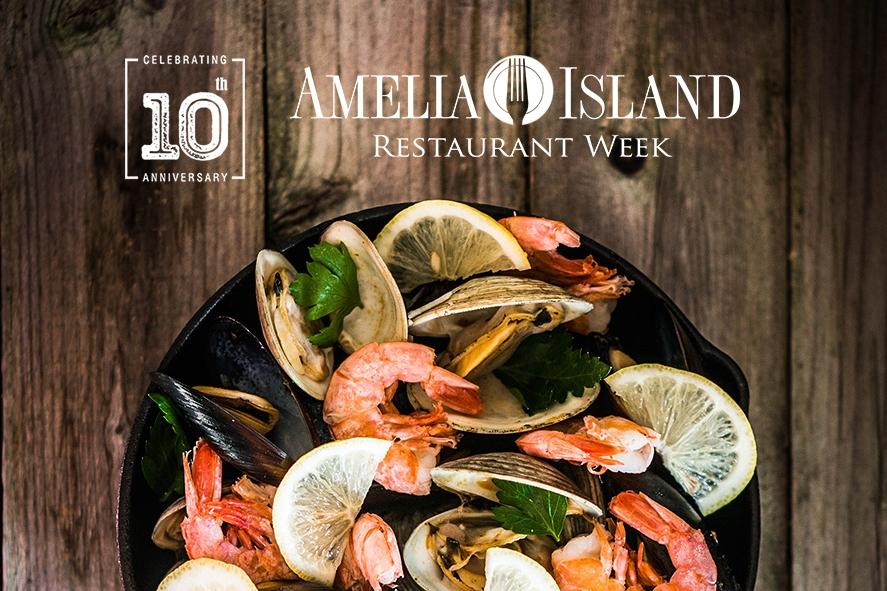 Amelia Island Restaurant Week on Amelia Island, Florida.