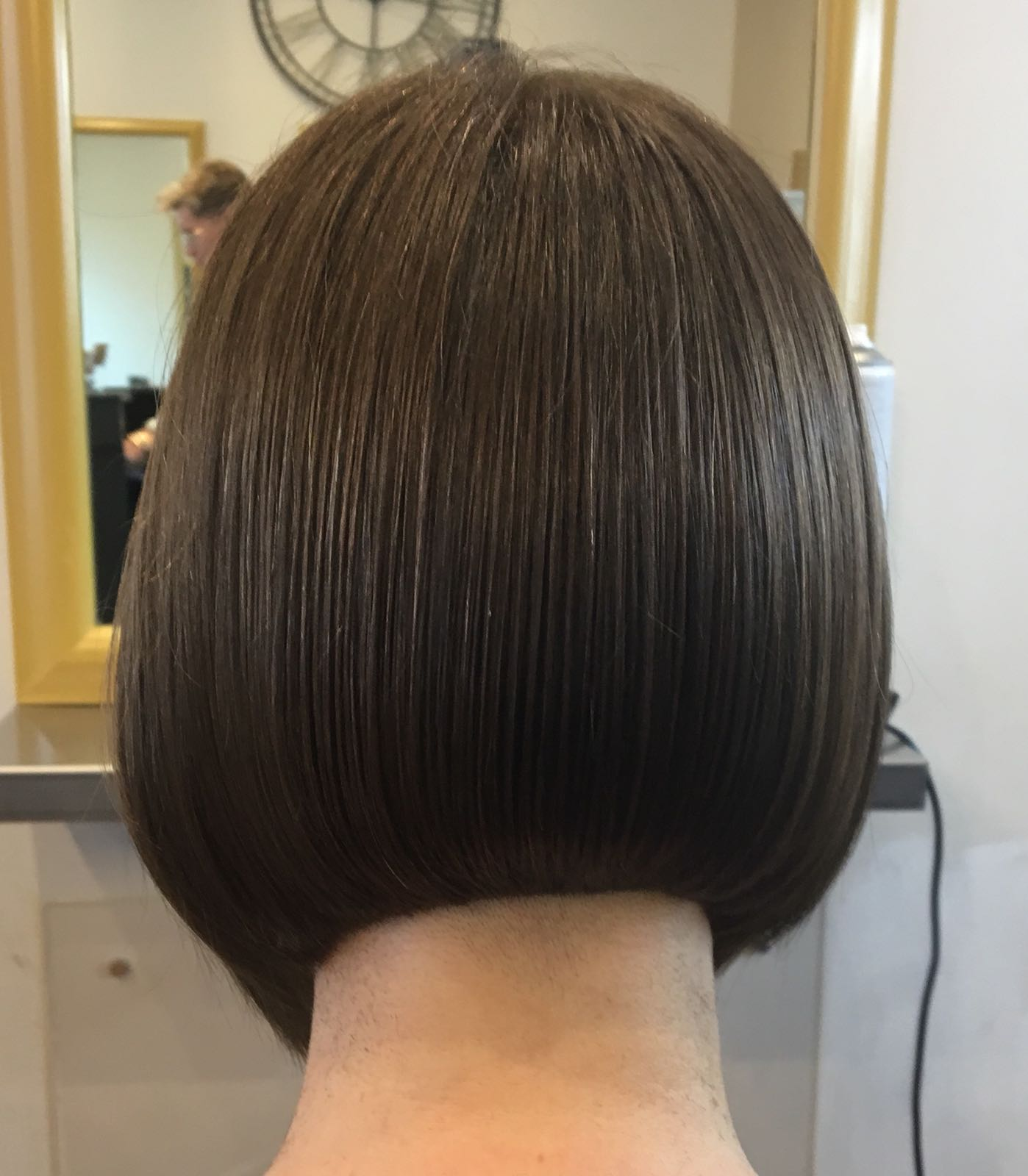 3 steps to a precision bob.  1. An amazing client. 2. Use an undercut technique 3. Take the time it needs to achieve it!.jpeg