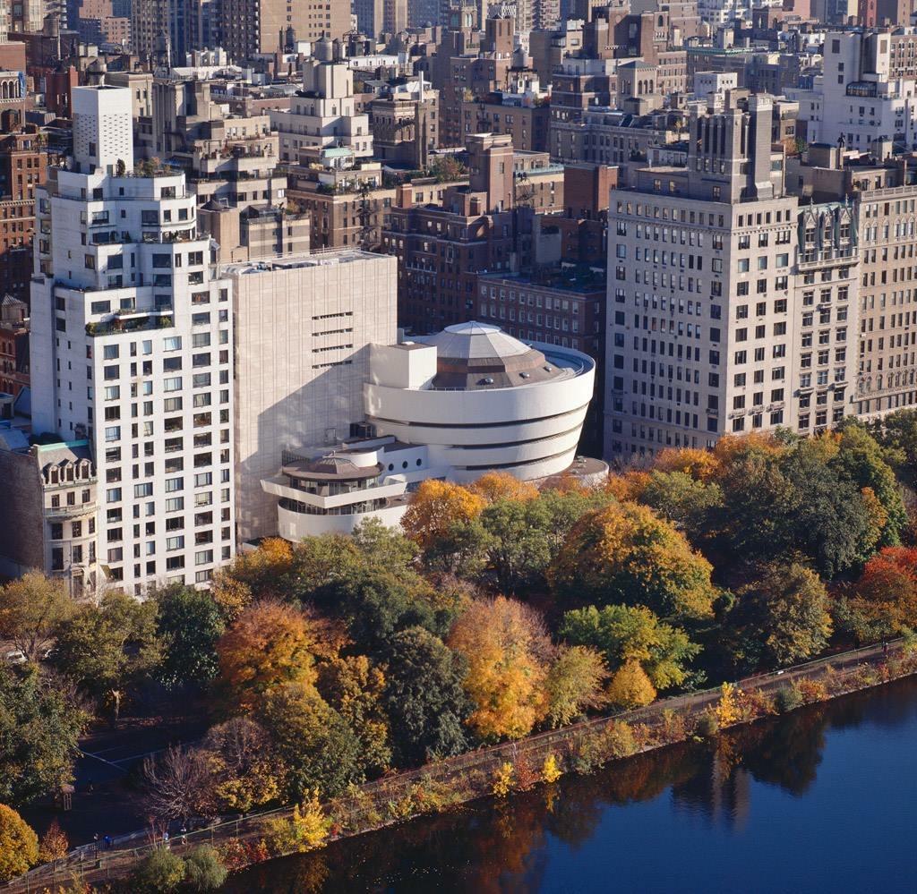 The Solomon R. Guggenheim Museum -