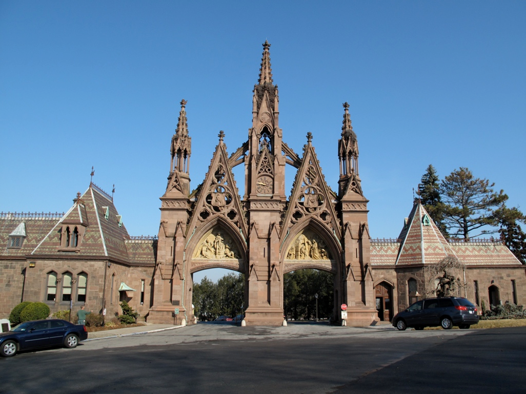Green-Wood Cemetery Arch -