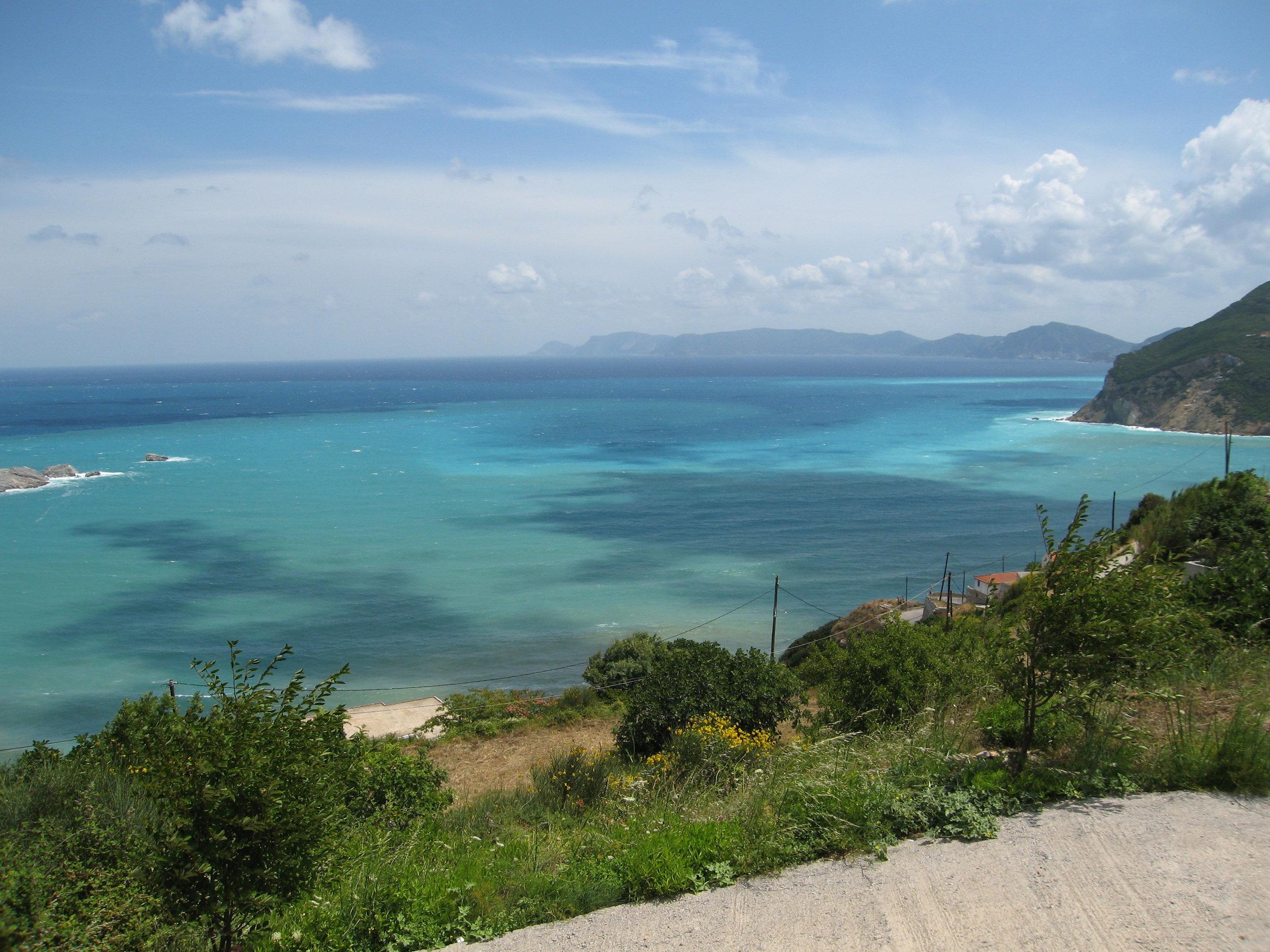 A peaceful, intimate setting on the Aegean Sea -