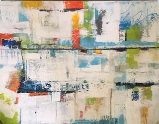 Lime Freeze | 50x38 |SOLD