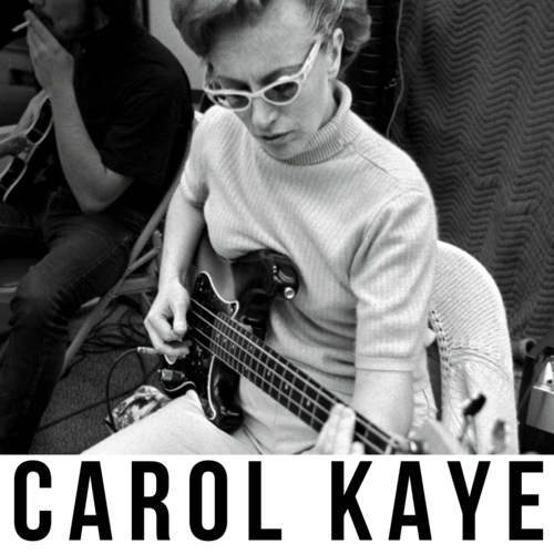 Wrecking Crew bass player Carol Kaye