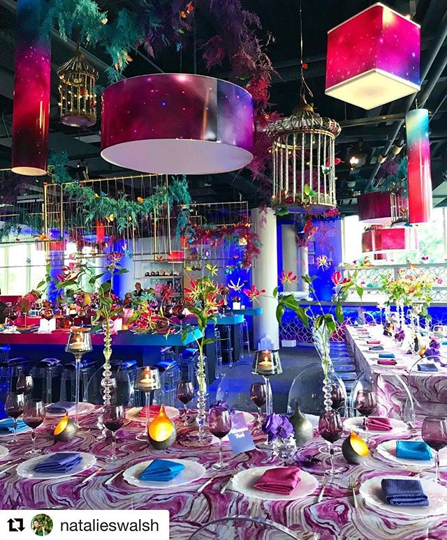 #Repost @natalieswalsh with @get_repost ・・・ Saturated celestial celebration filled with rich hues and pink pops for a magical mitzvah at Nature Museum | event design @natalieswalsh for @hmrdesigns | planner @designereventchicago | venue @naturemuseum | caterer @calihan_catering | lighting @diamondeventgroup | rentals @tablescapeschgo @bbjlinen | invite suite @thestudiolmc |⠀⠀ .⠀⠀⠀⠀ .⠀⠀ .⠀⠀ .⠀⠀ .⠀⠀ #hmrdesigns #nataliewalshhmr #chicago #luxuryeventdesign #chicagoevents #naturemuseum #event #chicagoflorist #chicagomitzvah #mitzvahdecor #color #magical #garden #butterfly #celestial #celebration #pink #purple #blue #flowers #floral #floraldesign #tablesetting #tablescape #decor #designinspo #chandelier #birdcage #mitzvah
