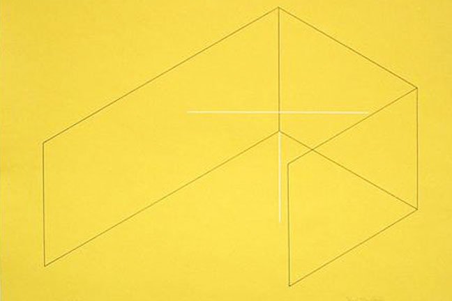 Fred Sandback   Selected Prints   March 7 - 30, 2013