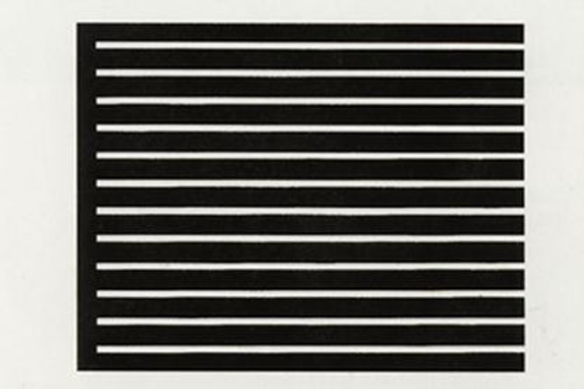 Donald Judd  Selected prints   April 1 - May 1, 2010